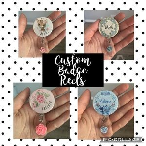 Customized Badge Holders Name Tag Title